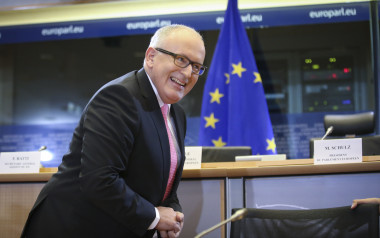 EU Commissioner-designate First, Vice-President of the Commission in charge of Better regulation, Inter-Institutional Relations, rule of Law and Charter of Fundamental Rights, Dutch, Frans Timmermans